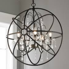 Orb Chandeliers And Metal Orb Chandelier Shades Of Light