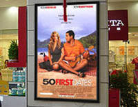 lighted movie poster frame lighted movie poster frames illuminated theater displays
