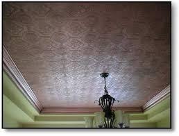 Textured Wallpaper Ceiling by Nebraska Artist Faux Copper Ceiling Cindy Chinn U0027s Art Department