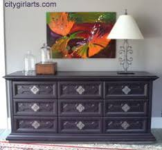 Painted Buffets And Sideboards by Sideboard Before And After Dresser Living Rooms And Room