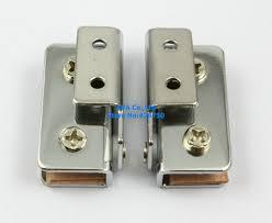 cabinet glass door hardware 4 pieces cabinet glass pivot door hinge clamps for 5 8mm glass