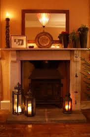 hearth decor beautiful fireplace lanterns for the home pinterest