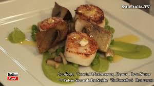 cours de cuisine 974 cuisine fashion food capesante porcini piselli da