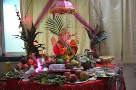how to decorate a temple at home how to welcome ganpati once again interior designing ideas