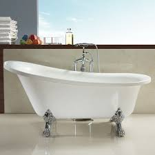 choose clawfoot tub for modern bathroom designs