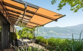 Sun Awnings For Houses Glass Canopy System Stobag Sonnen Und Wetterschutz