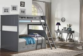 Bunk Bedroom Sets New Classic Taylor Gray Bunk Bedroom Set Taylor Collection