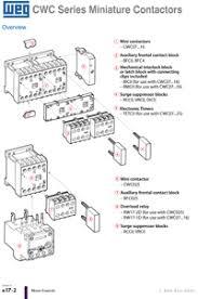weg mini contactor 3 pole mini contactor 4 pole mini contactor