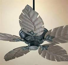 ceiling fan palm blade covers reward leaf blade ceiling fan fans covers transbordesaude hunter