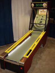 give the gift that truly wows a real skeeball machine gift