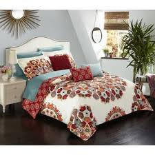 White And Red Comforter Red Comforter Sets For Less Overstock Com
