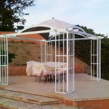 Garden Treasures Pergola Gazebo by 11 X 11 Gt Pergola Replacement Canopy Garden Winds