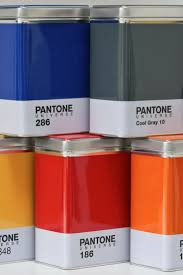 Orange Kitchen Canisters Add Colour To Your Home With Pantone Universe Storage Containers