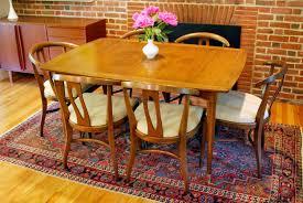 Retro Upholstery Fantastic Mid Century Modern Retro Dining Set New Knoll