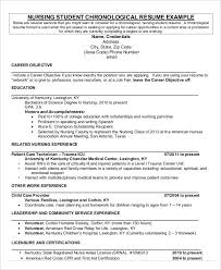 Nursing Student Resume Examples by Resume Objective For A Career Fair 54 Engineering Resume