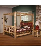 incredible deal on pottery barn dawson wood canopy bed
