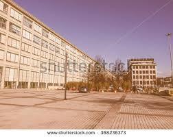 design hotel dã sseldorf school building school basketball hoop stock photo 90966785