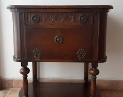 Antique Entryway Table Vintage Hall Table Etsy