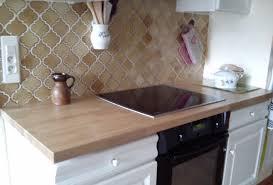 renovation plan de travail cuisine rénover sa cuisine avec des plans de travail en bois massif