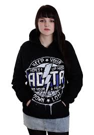a day to remember hopes up high hoodie girls fan merch