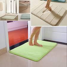 Bathroom Memory Foam Rugs 40x60cm Coral Velvet Memory Foam Rug Bathroom Mat Soft Non Slip