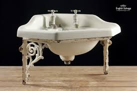 Salvaged Sink Shanks Cut Corner Sink And Pedestal Bathrooms Belfasts And Taps