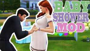 mod baby shower the sims 4 baby shower mod overview