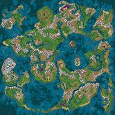 World Map Game Dragon U0027s Den U003e Dragon Quest Vi Ds U003e Maps