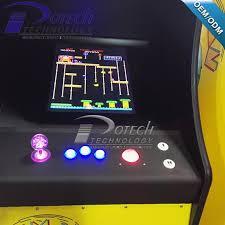 Galaga Arcade Cabinet Pac Man Ms Pacman Donkey Kong Space Invader Galaga Arcade