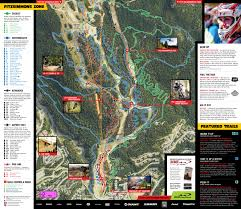 Park City Utah Trail Map by Whistler Mountain Bike Park Whistler Bc Canada Whistler