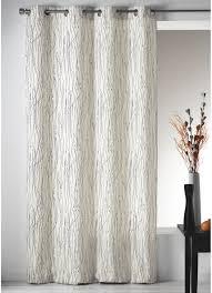 rideau style montagne rideau en toile imprimée zigzag ivoire gris homemaison