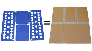 shirt folding board made from cardboard and duct tape youtube