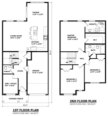 simple two story house plans with balcony overlook small