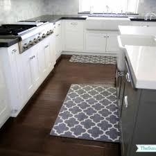 Corner Sink Kitchen Rug Envialette - Kitchen sink rug