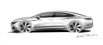 volkswagen arteon fastback will replace the current cc with cc