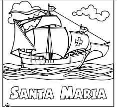 coloring pages of christopher columbus 100 images best 25