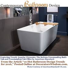 20 bathroom trends for 2016 u2013 decorator u0027s wisdom