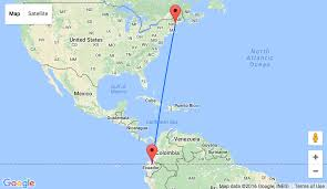 Map Of Portland Maine From Portland Maine To Ecuador For Only 333