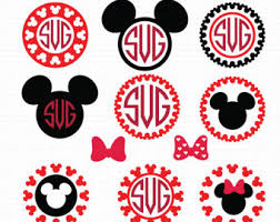 minnie mouse monogram minnie mouse monogram mickey mouse monogram minnie svg