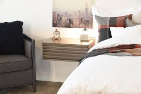 Unfinished Nightstand Bedroom Terrific Appealing Brown Attachable Bedside Shelf With