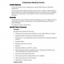 front office resume examples medical secretary sample cover letter