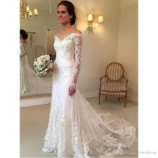 fashion lace mermaid wedding dresses 2017 dubai african style