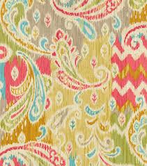 home decor print fabric waverly splash of color golden