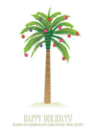 business cards palm tree at minted