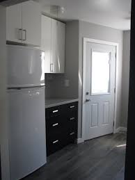 Black Laminate Flooring For Bathrooms Kitchen Reno Ikea Applad And Gnosjo Cabinets With Salt U0026 Pepper