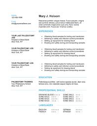 phlebotomy resume templates phlebotomist resume samples visualcv