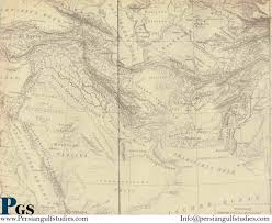South West Asia Map From 1700 A D To The Modern From 1700 A D To The Modern Persian