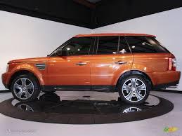 land rover orange vesuvius orange metallic 2006 land rover range rover sport