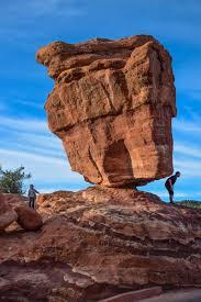 garden of the gods colorado photo of the day balanced rock