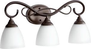 Quorum Bathroom Lighting Quorum Lighting 5108 3 64 Vanity Lighting Fixtures Amazon Com